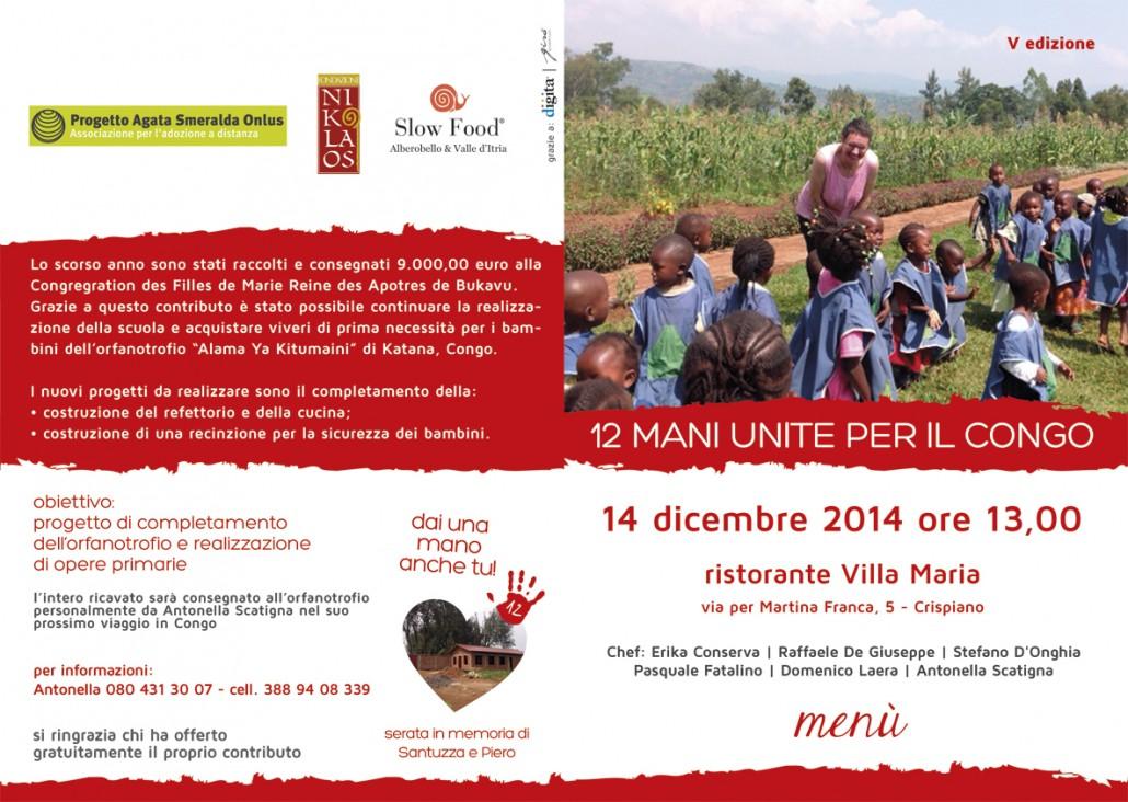 12 Mani Unite per il Congo