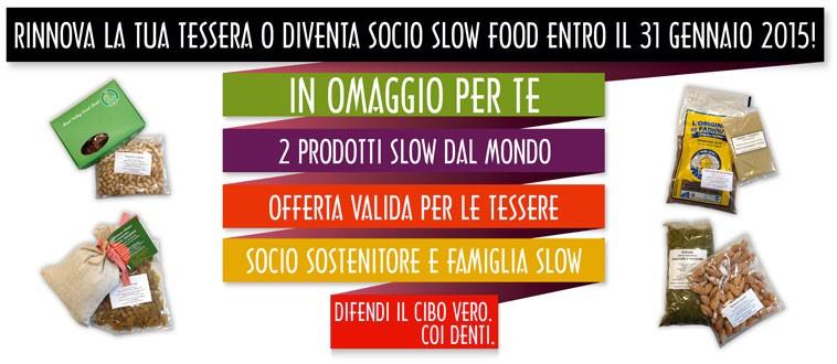 Diventa Socio Slow Food