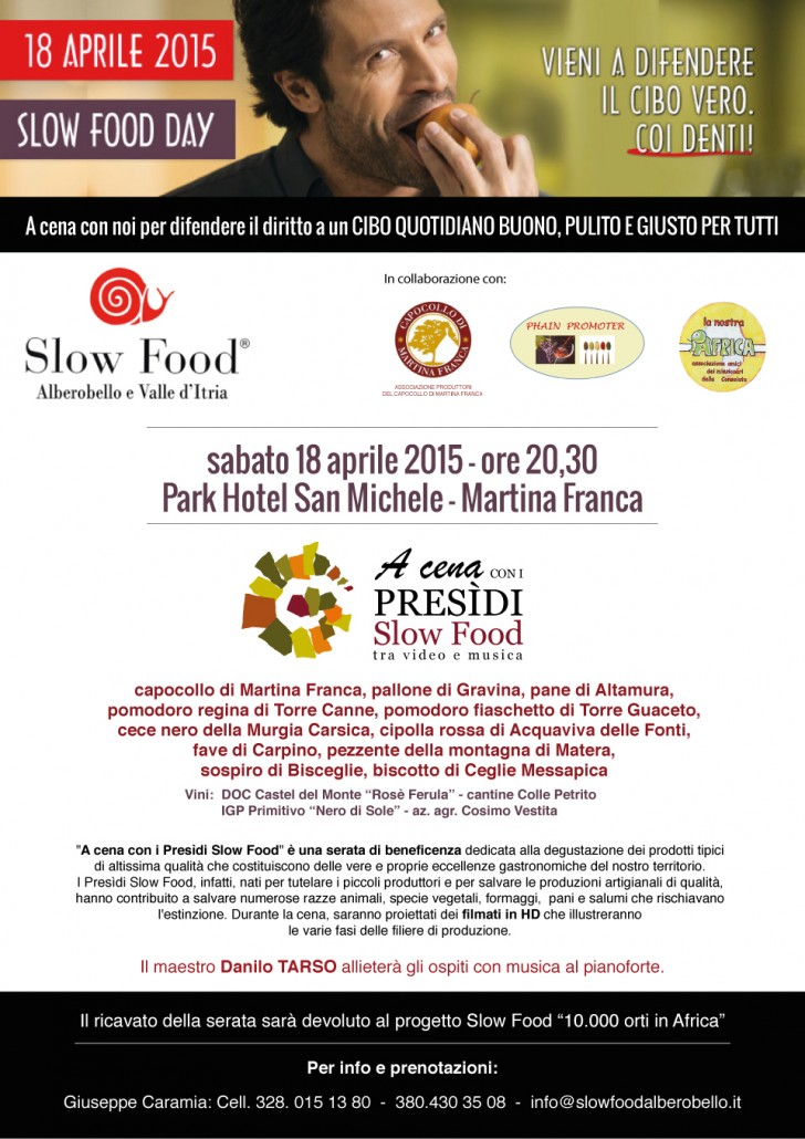 Slow Food Day 2015 - Slow Food Alberobello e Valle d'Itria