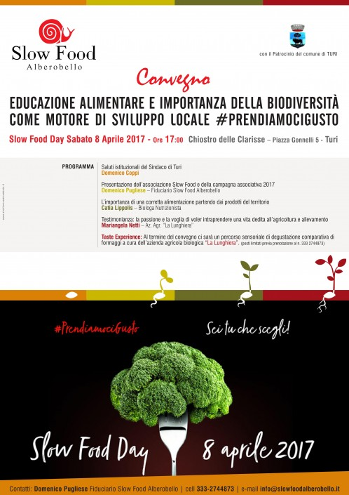 Slow Food Day 2017 - Condotta Alberobello