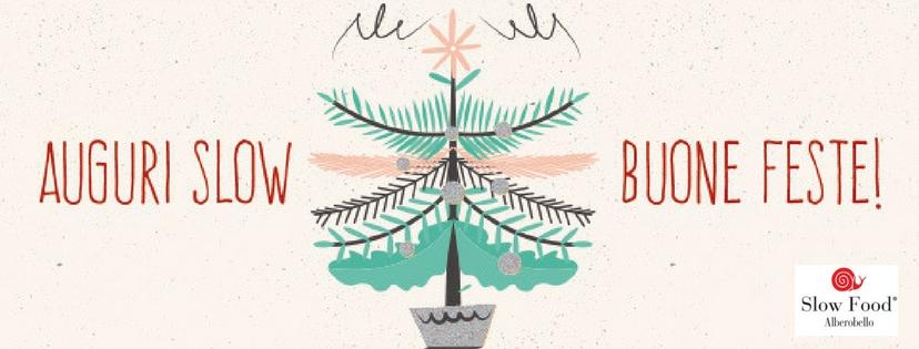 Auguri Slow Food Alberobello