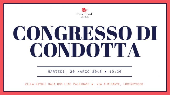 Congresso di Condotta Slow Food Alberobello