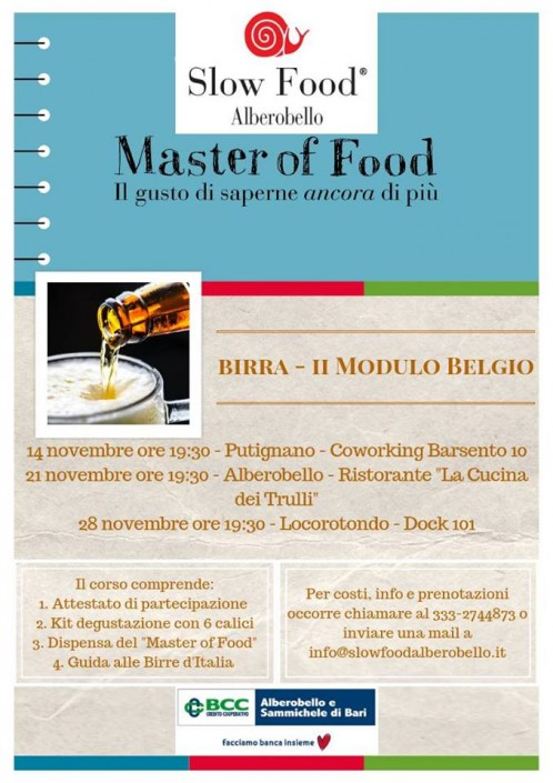 Master of Food Birra Belgio