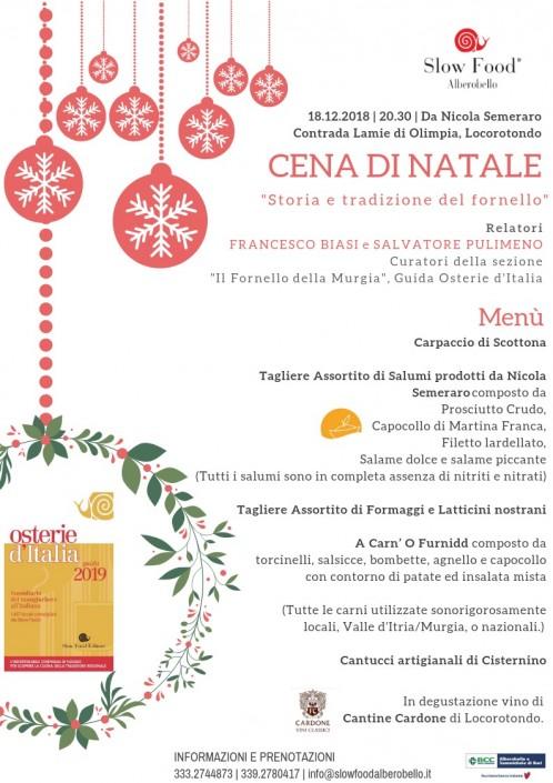 Cena di Natale - Fornello della Murgia