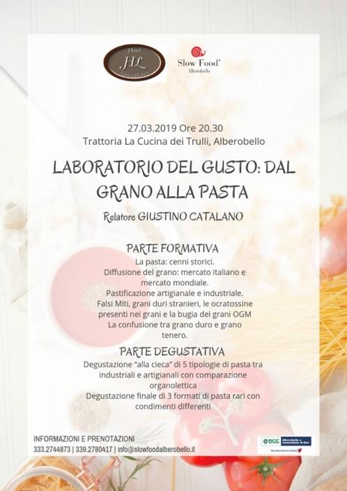 Programma Laboratorio della pasta